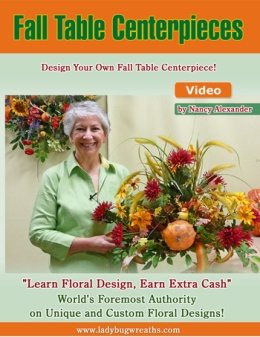 Fall Table Centerpiece DVD