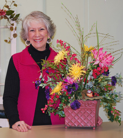how to make a floral arrangement by nancy alexander