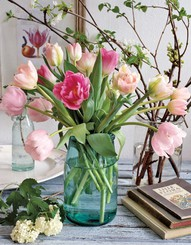 Tulips for inspiration...