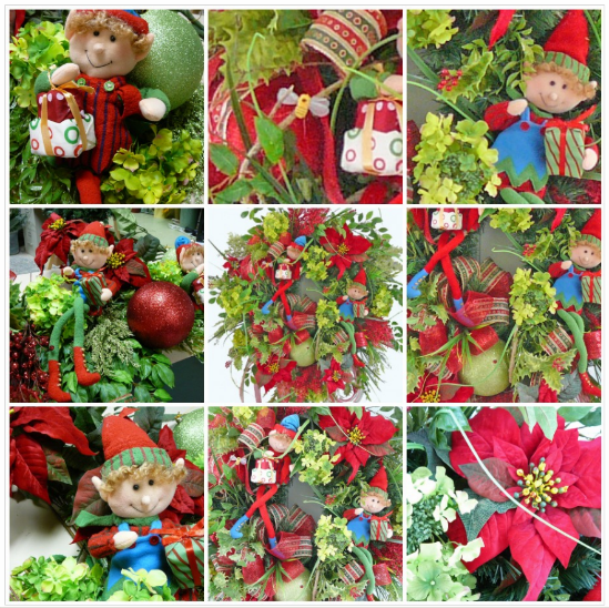 How to Make a Large Christmas Wreath