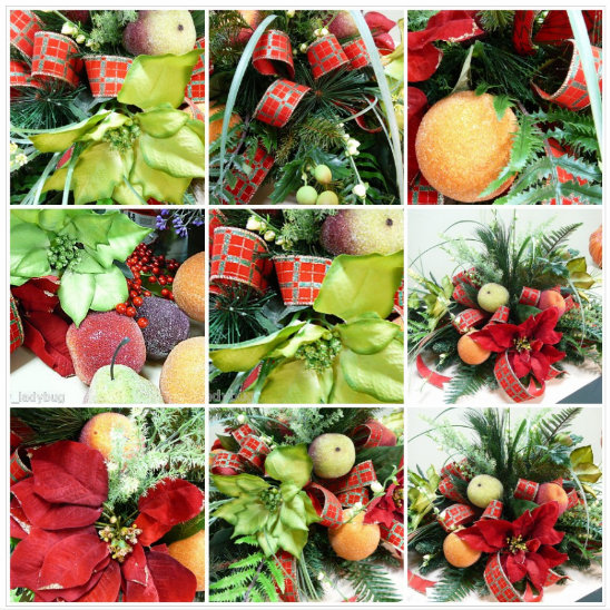 How to Make an Inexpensive Table Christmas Centerpiece