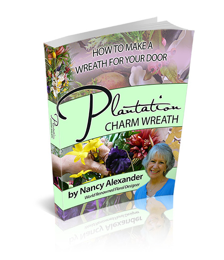 how to make a plantation charm wreath