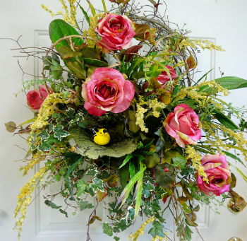 Learn Door Wreaths and Floral Design