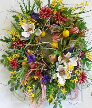 magnolia outdoor wreath