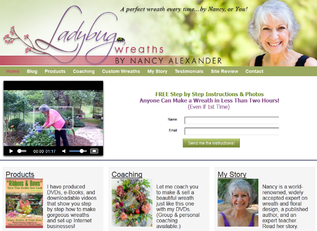 www.LadybugWreaths.com BRAND NEW WEBSITE LAUNCH