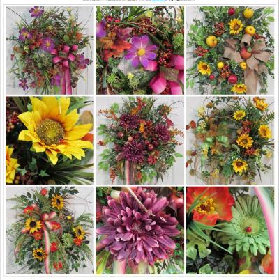 NEW FALL WREATHS @ Ladybug Wreaths