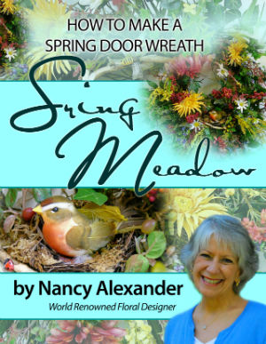 How to make a wreath, Spring Meadow